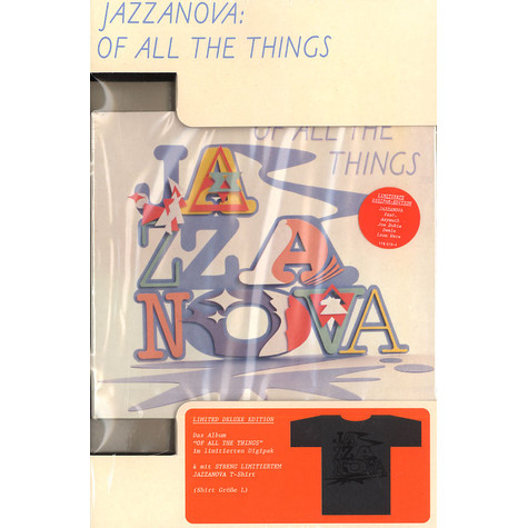 Jazzanova - Of all the things Limited Edition with T-Shirt