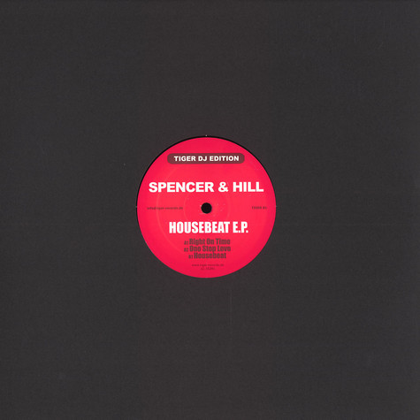 Spencer & Hill - Housebeat EP