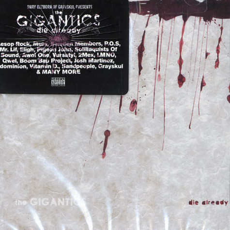 Gigantics, The - Die already