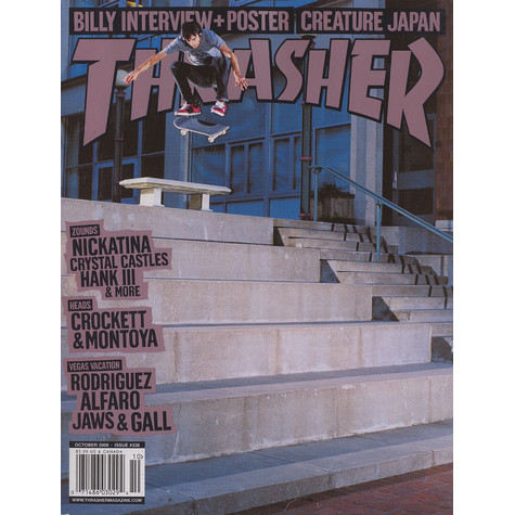 Thrasher Magazine - 2008 - October - Issue 338