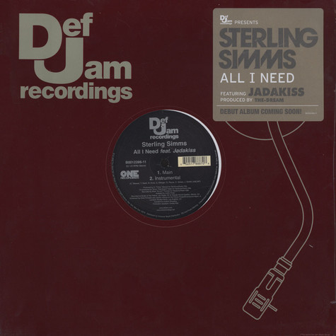 Sterling Simms - All i need feat. Jadakiss