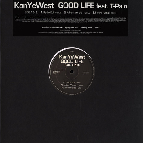 Kanye West - Good Life  feat. T-Pain