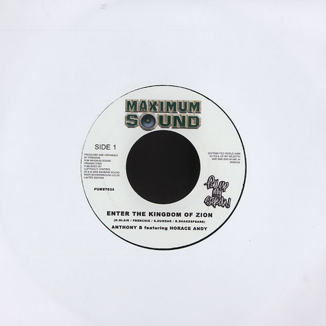 Anthony B & Horace Andy - Enter the kingdom of zion