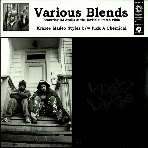Various Blends - Krazee madeo stylez feat. DJ Apollo of The Invibl Skratch Piklz