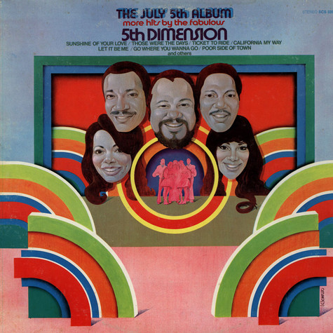 Fifth Dimension, The - The July 5th Album - More Hits By The Fabulous 5th Dimension