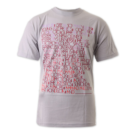 Stones Throw x Brent Rollins - Madlib aliases T-Shirt
