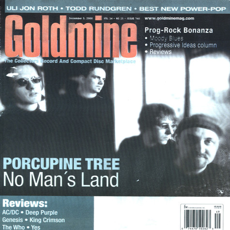 Goldmine Mag - 2008 - December - Issue 740