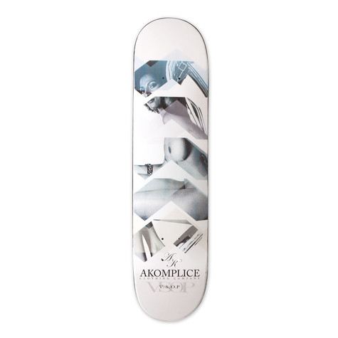Akomplice - Skateboard deck - 8.5 lenses design