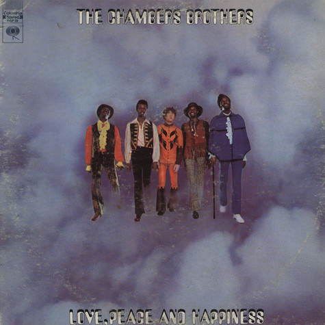Chambers Brothers, The - Love, peace and happiness