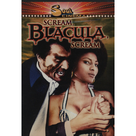 Scream Blacula Scream - DVD movie