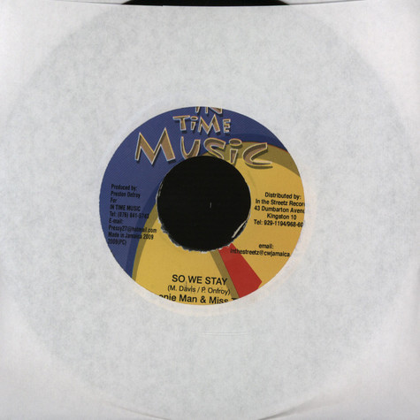 Beenie Man & Miss Ting - So we stay