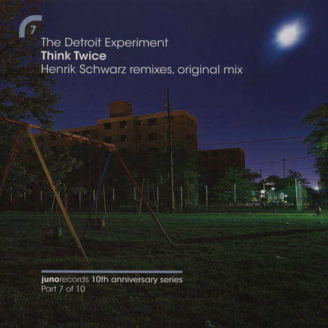Detroit Experiment, The - Think twice Henrik Schwarz remixes