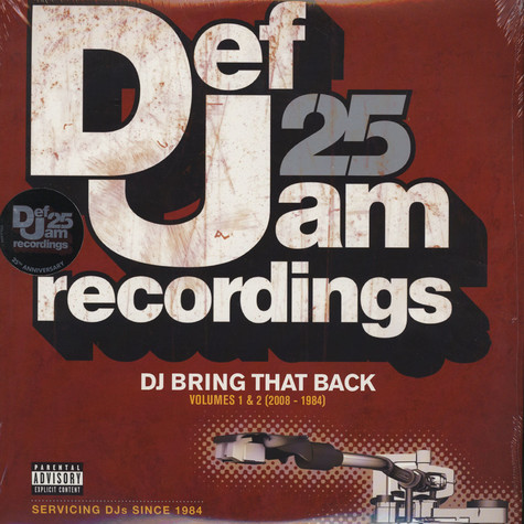 V.A. - Def Jam 25 - DJ Bring That Back
