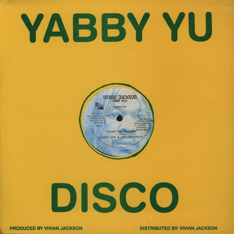 Yabby U & The Prophets - Warn the nation