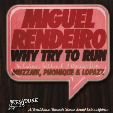 Miguel Rendeiro - Why try to run