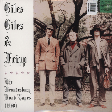 Giles, Giles And Fripp - The Brondesbury road tapes