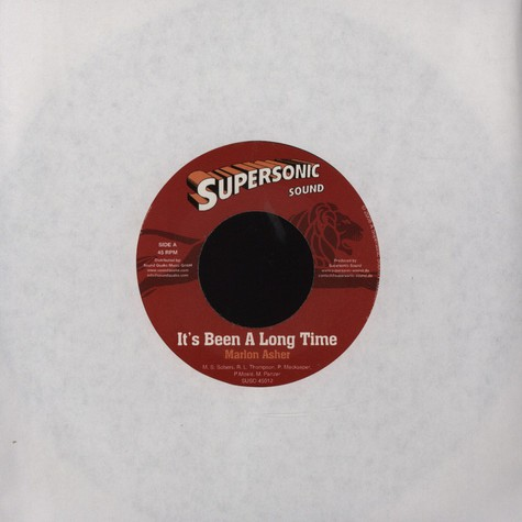 Marlon Asher / Dr. Ring Ding - It's been a long time / My roots and my culture