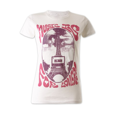 Ubiquity - Music is for lovers Women T-Shirt