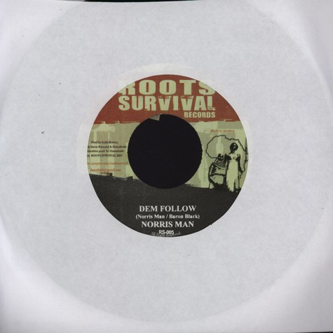 Norris Man / Bongo Chilli  - Dem Follow / Stability