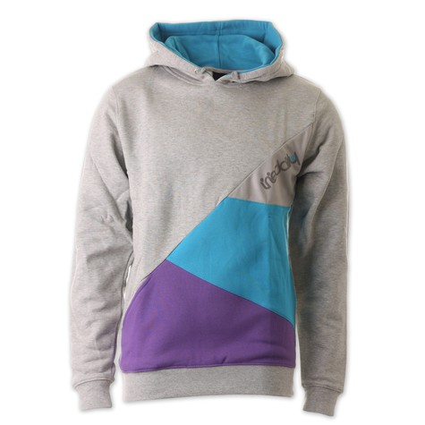 Iriedaily - Diagonal Hooded Sweater