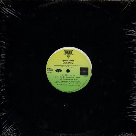 Dres (of Black Sheep) - Special Edition Limited Vinyl