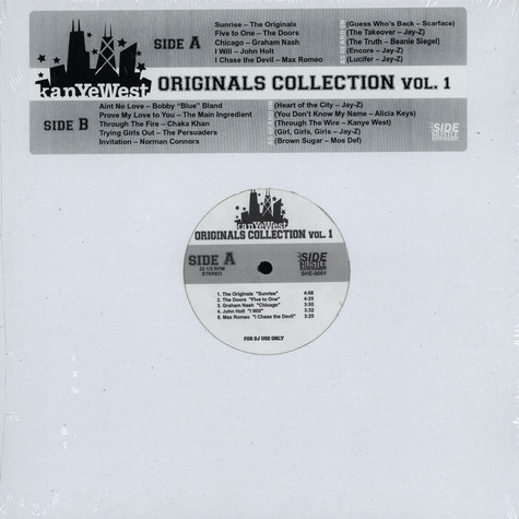 Kanye West - Originals collection vol.1