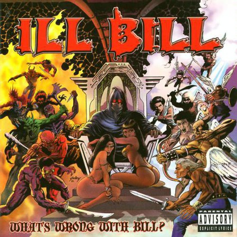Ill Bill - Whats wrong with Bill Poster