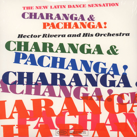Hector Rivera & His Orchestra - Charanga & Pachanga!