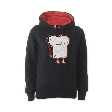 Cleptomanicx - Foody Toast Girls Hoodie