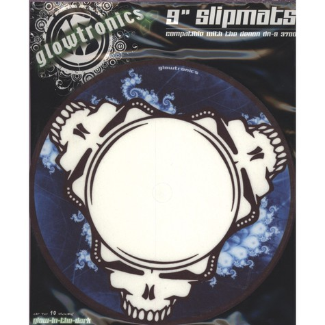 Glowtronics - Dead Head 9inch Glow In The Dark Slipmat