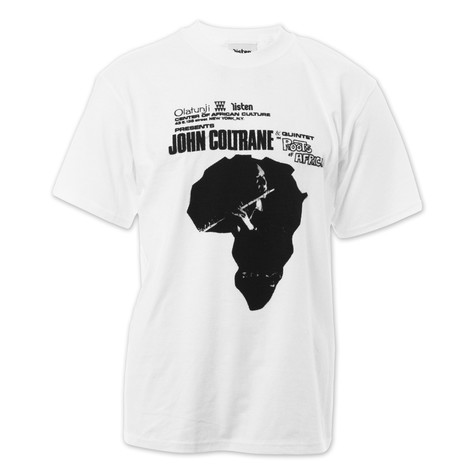Listen Clothing - Coltrane In Africa T-Shirt