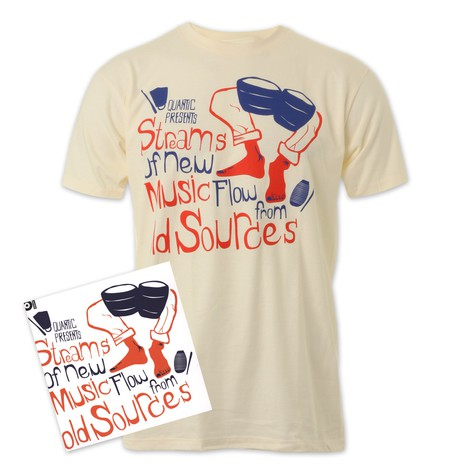 101 Apparel x Quantic - Streams Of New Music Flow From Old Sources T-Shirt