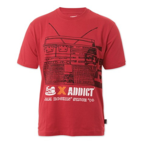 Addict - Scratch X Addict Jam Rock Blaster T-Shirt