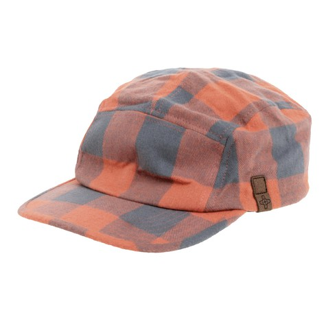 Addict - 5 Panel Cap Lumbercheck Cap