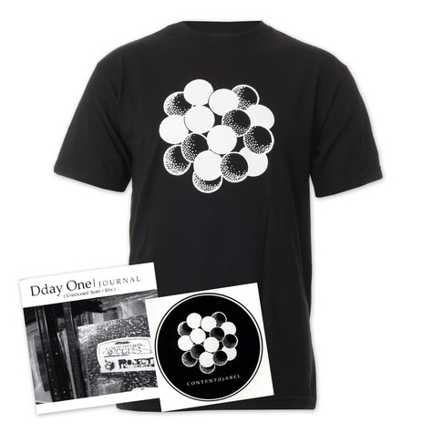 Content Label x Dday One - Logo T-Shirt (incl. Dday One Mix CD)