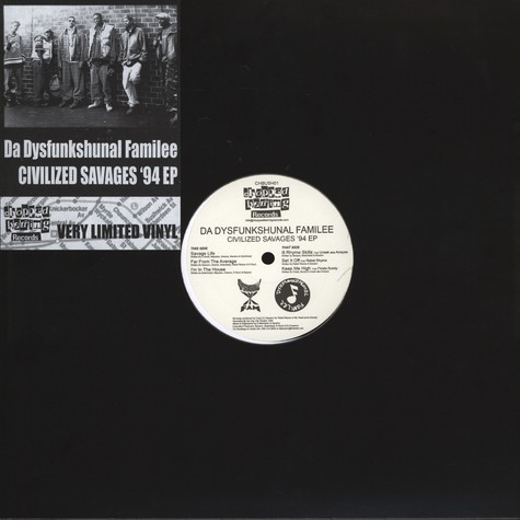 Dysfunkshunal Familee - Civilized Savages '94 EP