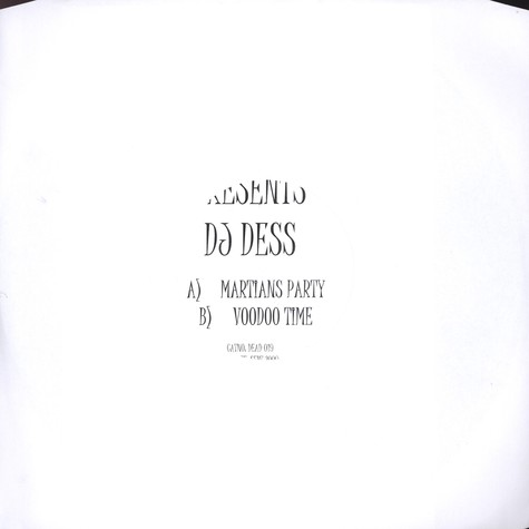 DJ Dess - Martians Party