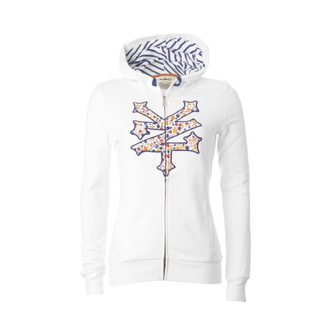 Zoo York - Paint Marbles Women Zip-Up Hoodie