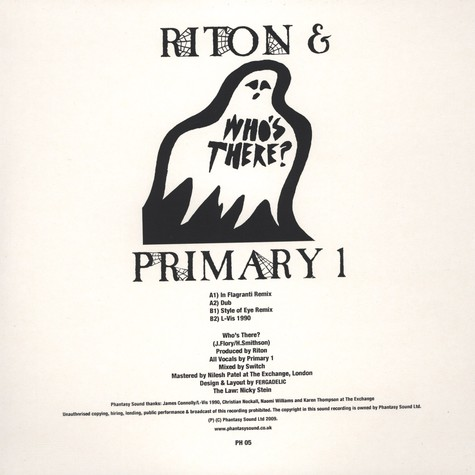 Riton & Primary 1 - Who's There