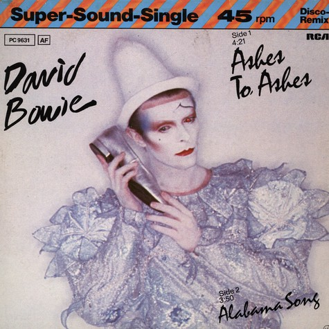 David Bowie - Ashes To Ashes (Disco remix)