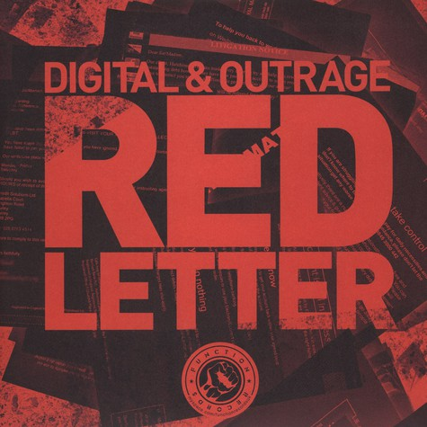 Digital & Outrage - Red Letter