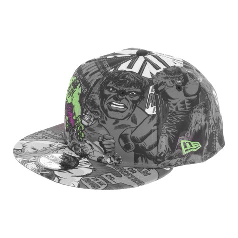 New Era x Marvel - Hulk Pop All Over Cap