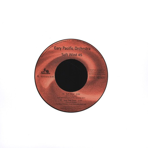 Gary Pacific Orchestra - Soft Wind 45