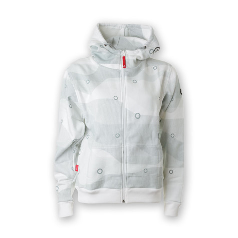 Ucon Acrobatics - Line Pattern Women Zip-Up Hoodie