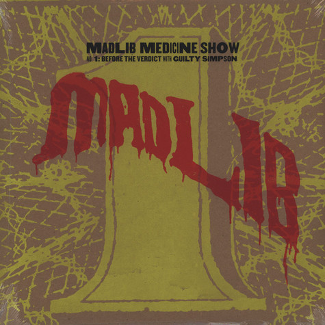 Madlib - Medicine Show Volume 1 - Before The Verdict Deluxe Edition