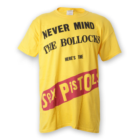 Sex Pistols - Never Mind The Bollocks T-Shirt