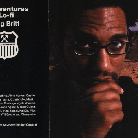 King Britt - Adventures In Lo-fi