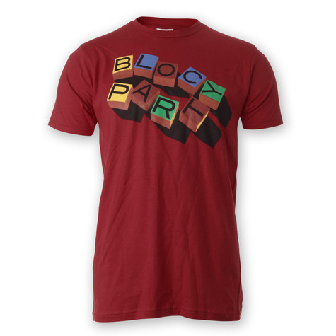 Bloc Party - Wood Blocks T-Shirt