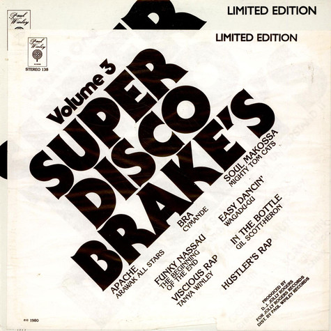 Various - Super Disco Brake's Volume Three