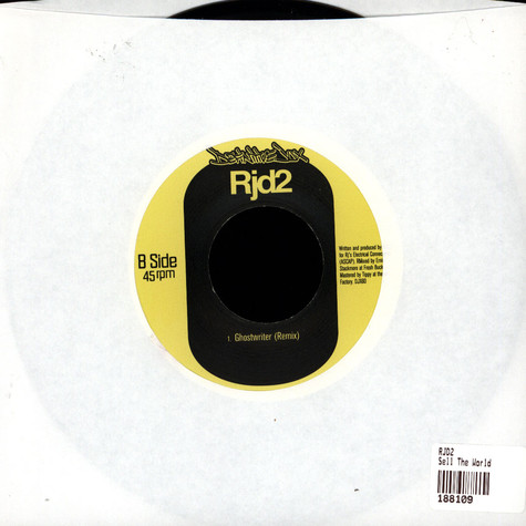 RJD2 - Sell The World